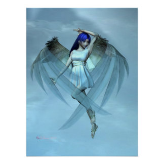 blue angel poster