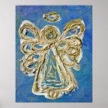 Blue Angel Print
