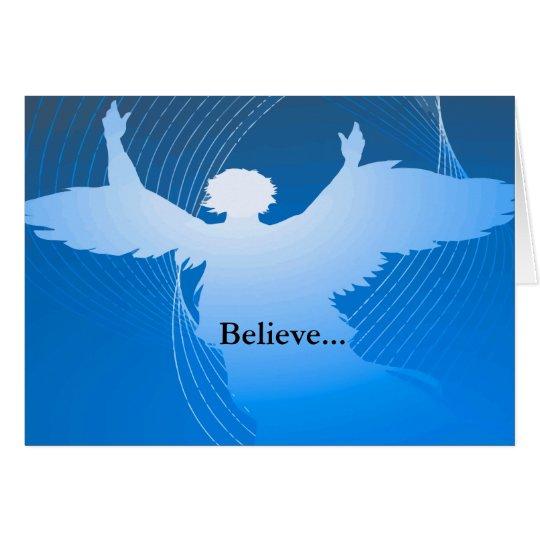 Blue Angel Set Card