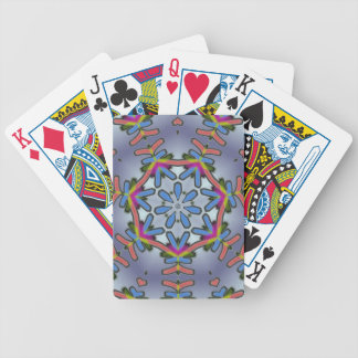 Blue Angel Snowflake Playing Cards