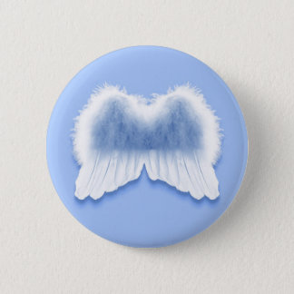 Blue Angel Wings 2¼ Inch Round Button
