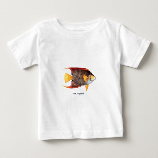 Blue Angelfish (saltwater) Baby T-Shirt
