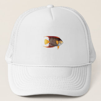 Blue Angelfish (saltwater) Trucker Hat