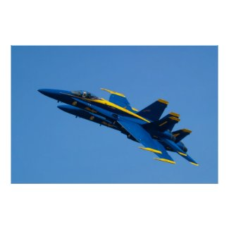 Blue Angels #1 & #4 Tucked Poster
