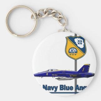 Blue Angels Aerobatic Team Keychain