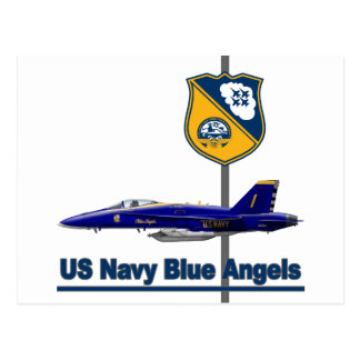 Blue Angels Aerobatic Team Postcards