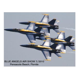 Blue Angels Air Show 7/2010 Postcard
