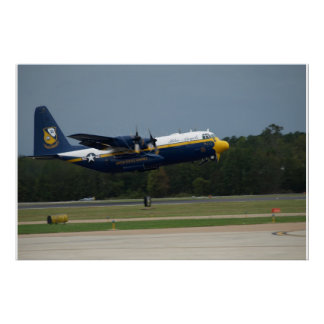 "Blue Angels' C-130 ""Fat Albert"" at take-off. Poster"