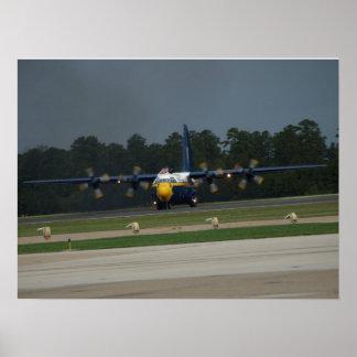 "Blue Angels' C-130 ""Fat Albert"". Poster"