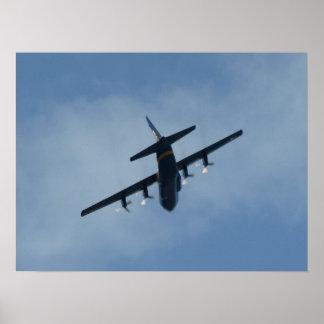 "Blue Angels' C-130 Hercules ""Fat Albert"". Poster"