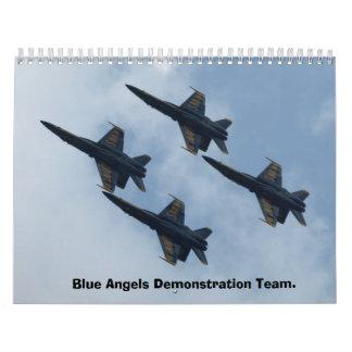 Blue Angels Demonstration Team Calendar 2013.