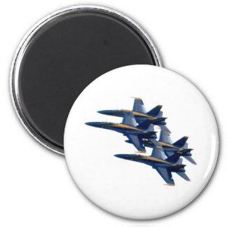 Blue Angels diamond 2 Inch Round Magnet