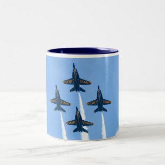 Blue Angels Diamond Belly  mug