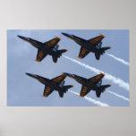 Blue Angels FA-18 Poster