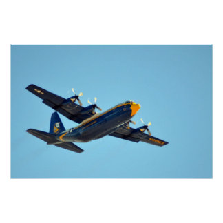 Blue Angels Fat Albert Poster