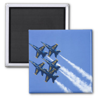 Blue Angels flyby during 2006 Fleet Week 2 Inch Square Magnet