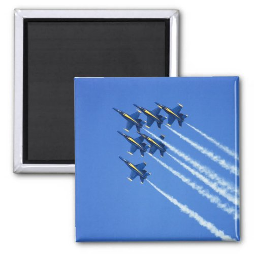 Blue Angels flyby during 2006 Fleet Week 2 Magnet