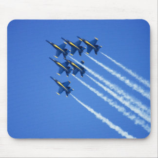 Blue Angels flyby during 2006 Fleet Week 2 Mouse Pad