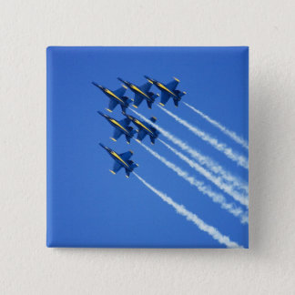 Blue Angels flyby during 2006 Fleet Week 2 Pinback Button