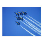 Blue Angels flyby during 2006 Fleet Week 2 Postcard