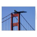 Blue Angels flyby during 2006 Fleet Week 3 Greeting Cards