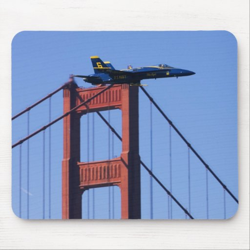 Blue Angels flyby during 2006 Fleet Week 3 Mouse Pad