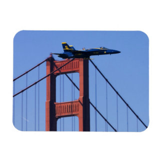 Blue Angels flyby during 2006 Fleet Week 3 Rectangular Photo Magnet