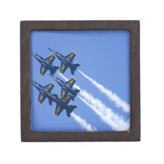 Blue Angels flyby during 2006 Fleet Week Premium Trinket Box