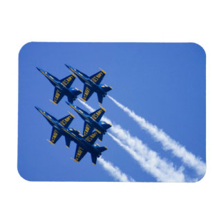 Blue Angels flyby during 2006 Fleet Week Rectangular Photo Magnet