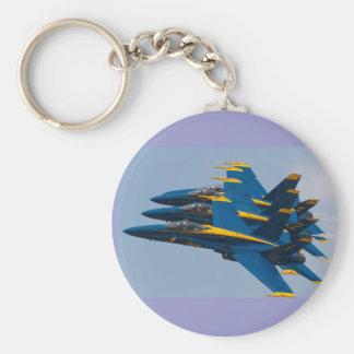 Blue Angels Formation Keychain