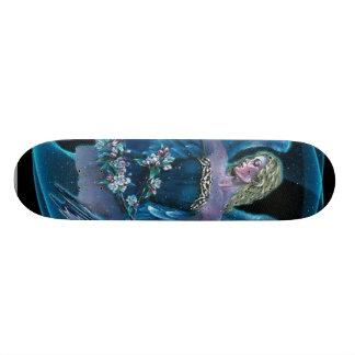 blue angels ice hockey team skateboard