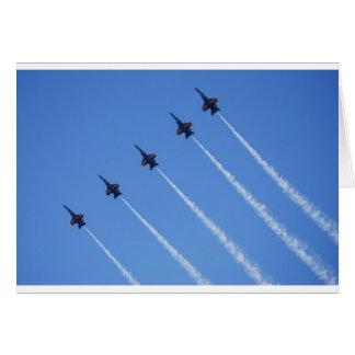 Blue Angels in Flight Card