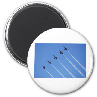 Blue Angels in Flight Magnet