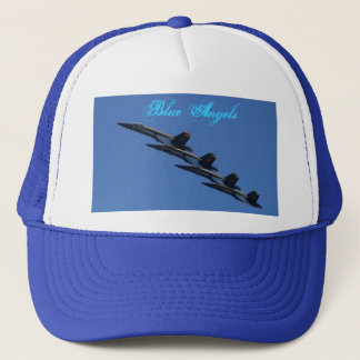 Blue Angels In Formation Trucker Hat
