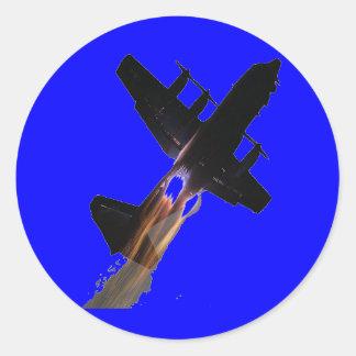 Blue Angels JATO Classic Round Sticker