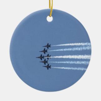 Blue Angels Jets Ceramic Ornament