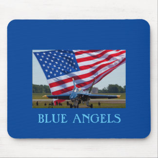 BLUE ANGELS MOUSE PAD