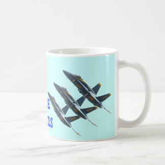 BLUE ANGELS CLASSIC WHITE COFFEE MUG