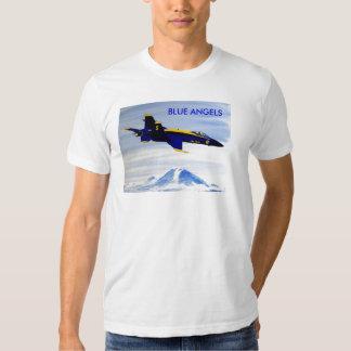 BLUE ANGELS SEAFAIR F-18 HORNET MT RAINIER SHIRT