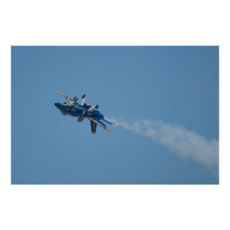 Blue Angels Solo #5 Inverted Takeoff Poster