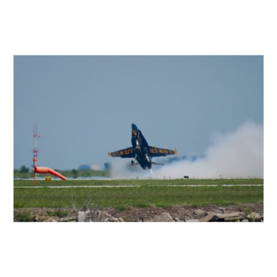 Blue Angels Solo #5 Liftoff Poster