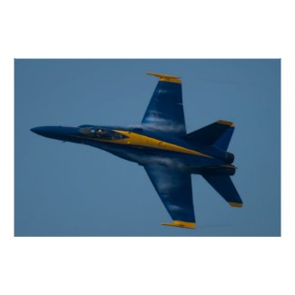 Blue Angels Solo #5 Vapors Poster