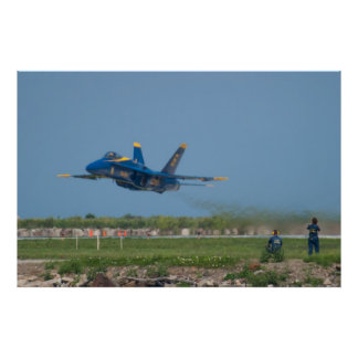 Blue Angels Solo #6 Low Takeoff Poster