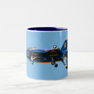 Blue Angels Solo's  - The Fortus Two-Tone Coffee Mug