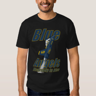 Blue Angels Vertical F18 Tee