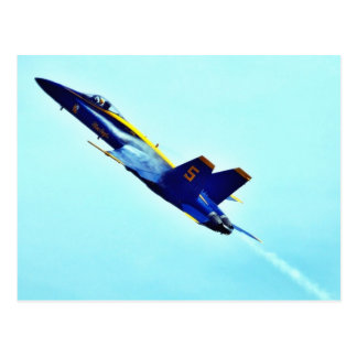 Blue Angles Fighters Jets Pilots Postcard