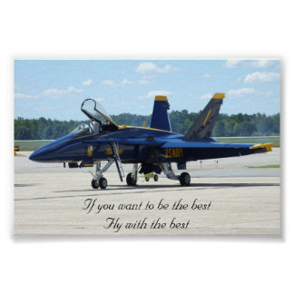 Blue Angles Fly with the best Poster