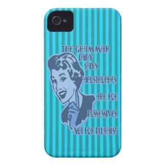 Blue Apostrophes Blackberry Case
