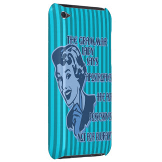 Blue Apostrophes iPod Touch Case
