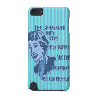 Blue Apostrophes iPod Touch Speck Case